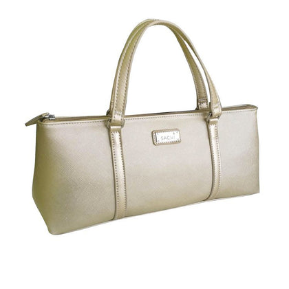 Sachi Insulated Wine Purse - Champagne Gold