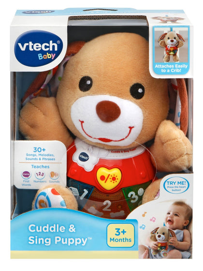 Vtech: Little Singing Puppy - Lovable Learning Plush