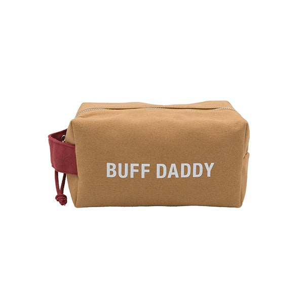 Dopp Bag: Buff Daddy (Brown/Red)