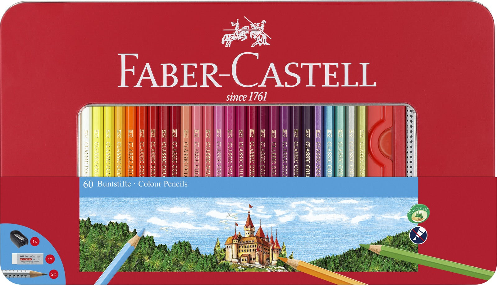 Faber-Castell: Classic Sketch (Set of 60)