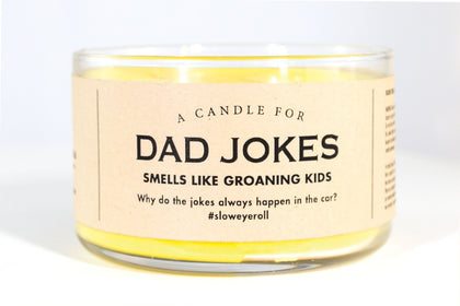 Whiskey River Co: A Candle For Dad Jokes