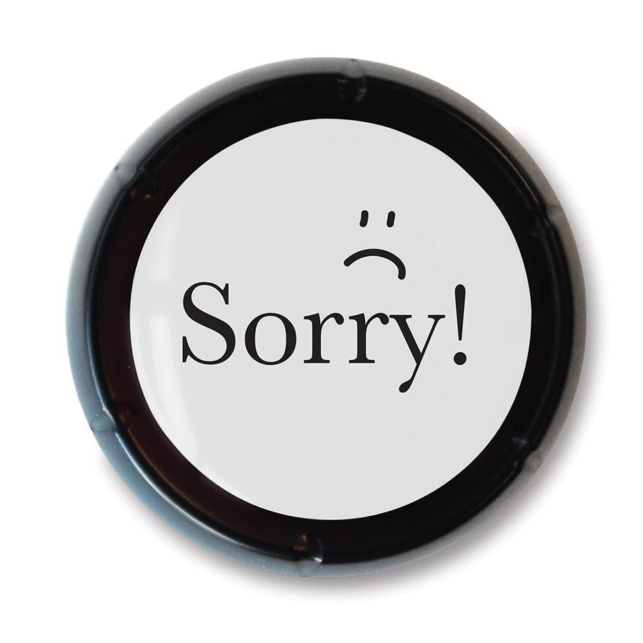 IS Gift: The SORRY! Button