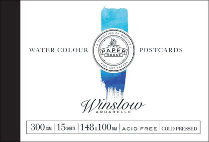 Winsor & Newton: Winslow Postcards - A6 (300gsm)