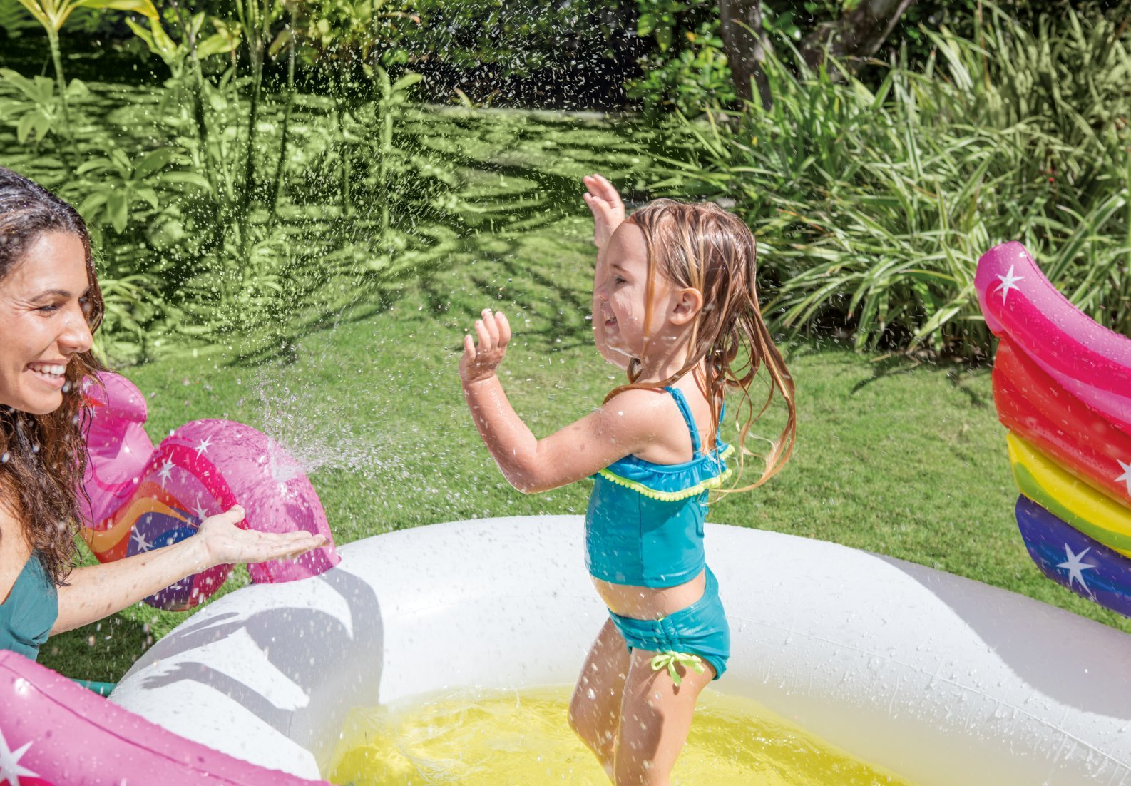 Intex: Mystic Unicorn - Spray Pool (107