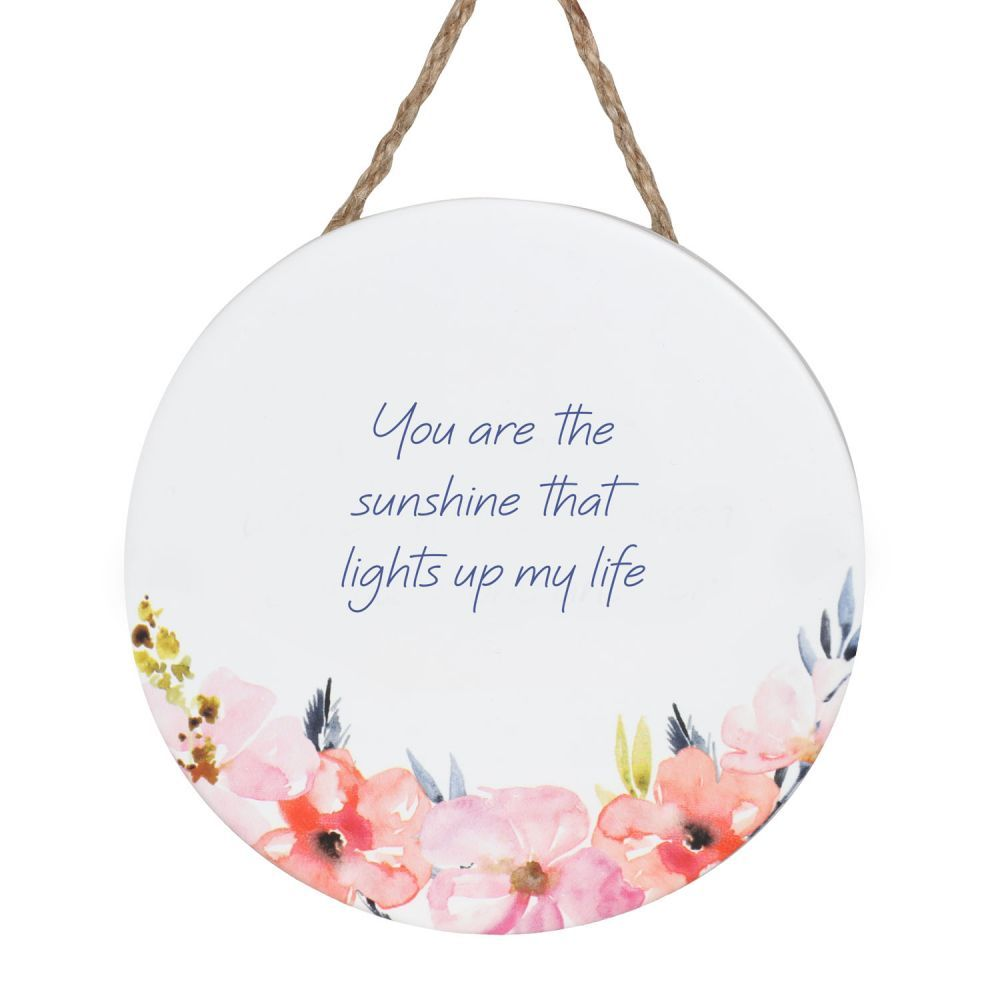 Empowerment Hanging Sign - Sunshine