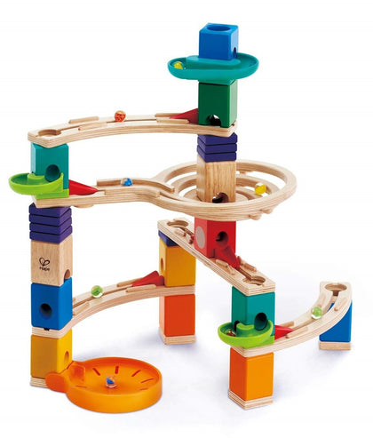Hape: Quadrilla Cliffhanger - Marble Run Set