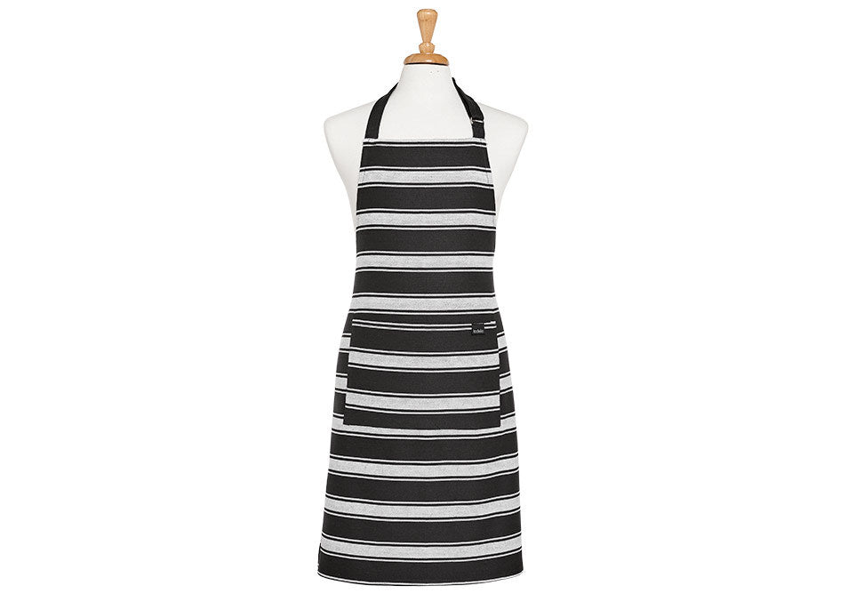 Butcher Stripe Series II Apron - Black