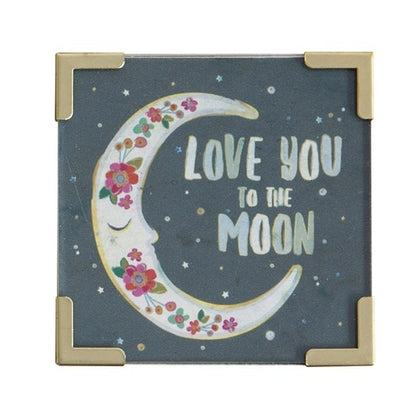 Natural Life: Corner Magnet - Love You To The Moon
