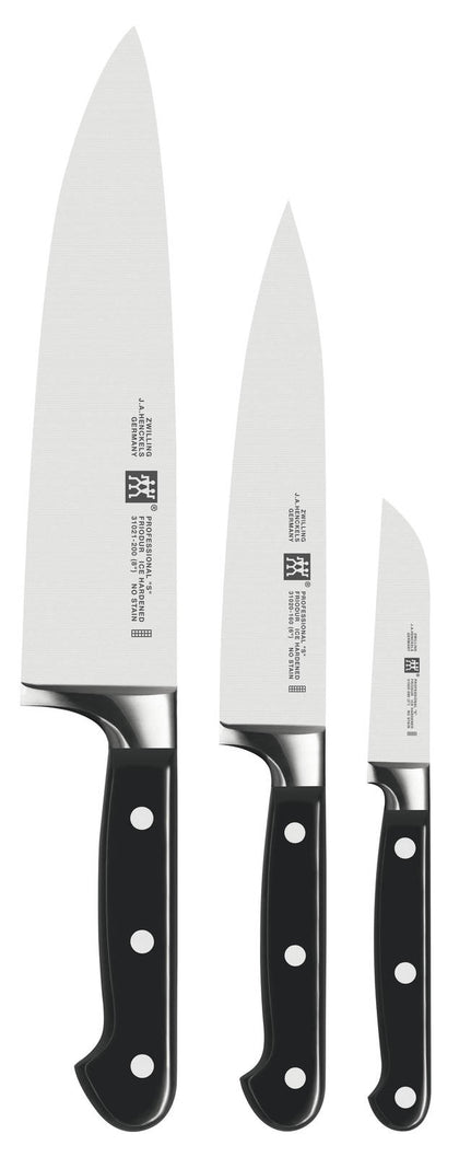 Zwilling: Professional 'S' 3pc Starter Knife Set