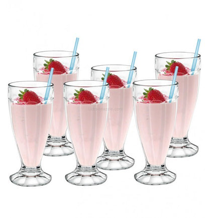 Borgonovo: London Milkshake Cup - 400ml (Set of 6)