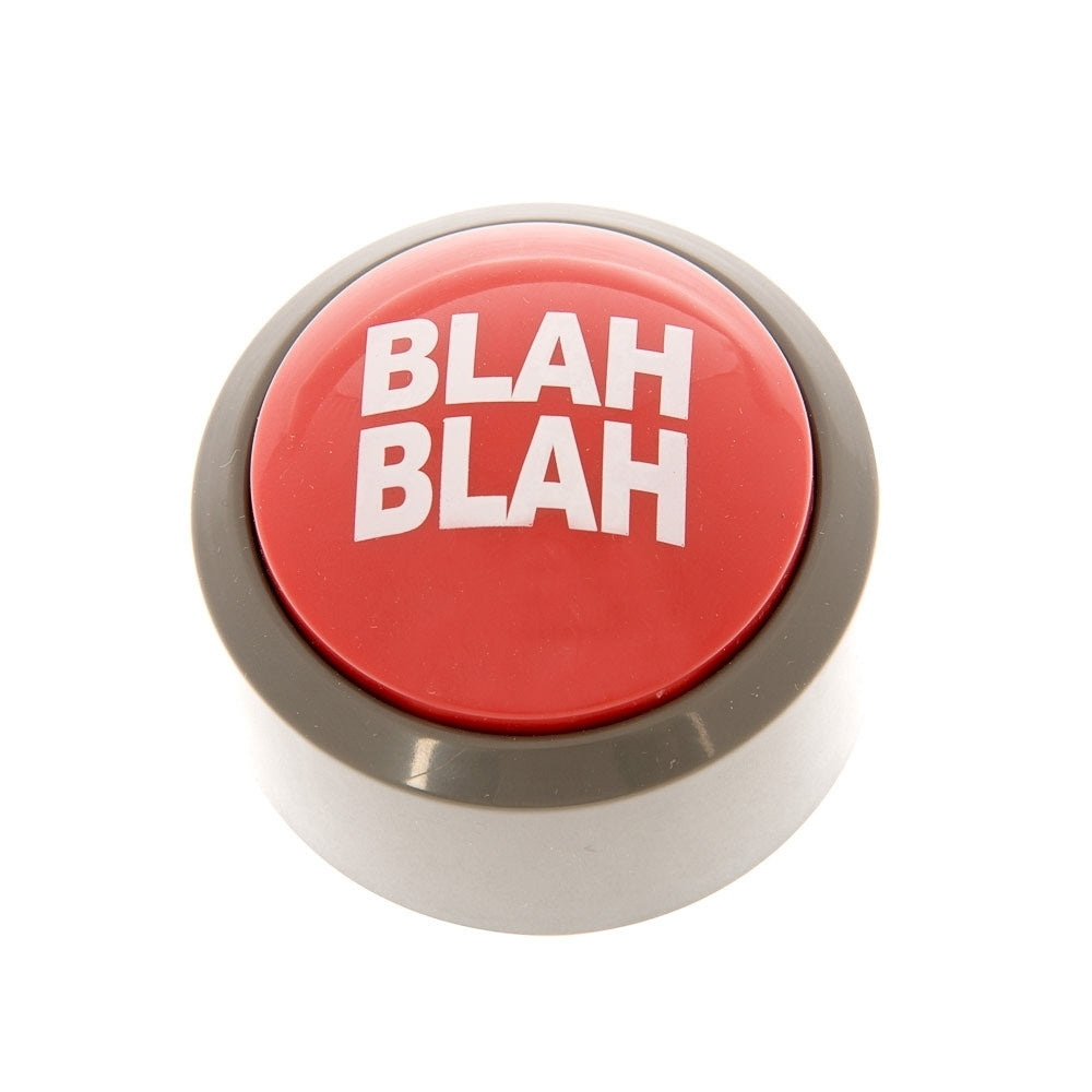 Blah Blah Button - Desk Toy