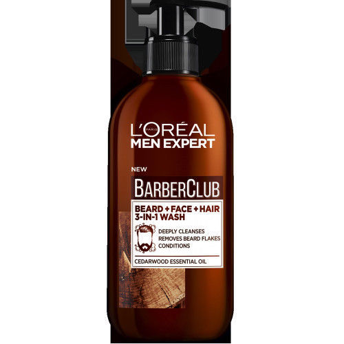 L'oreal Paris Men Expert - Beard, Face & Hair Wash (200ml)
