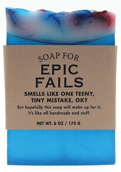Whiskey River Co: Soap - Epic Fails