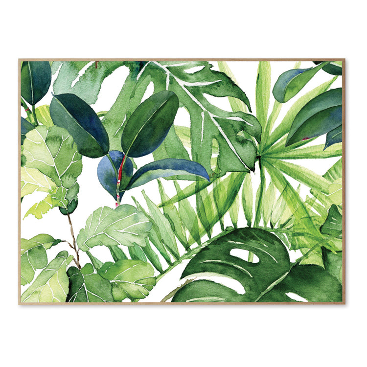 Framed Canvas Wall Decoration - Going Green
