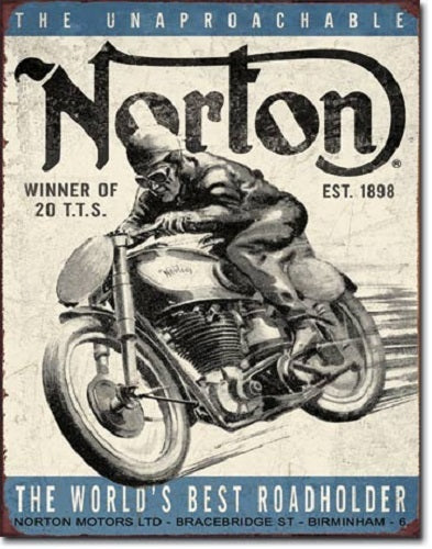 Norton - Winner Retro Tin Sign
