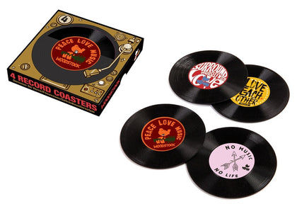 Woodstock: 45 Record - Coaster Set (Set of 4)