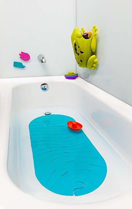 Boon Ripple Bath Mat - Blue