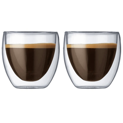 Bodum: Pavina Double Wall Glasses (250ml) - Box of 2
