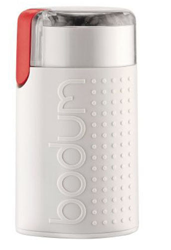 Bodum: Bistro Electric Coffee Grinder - White