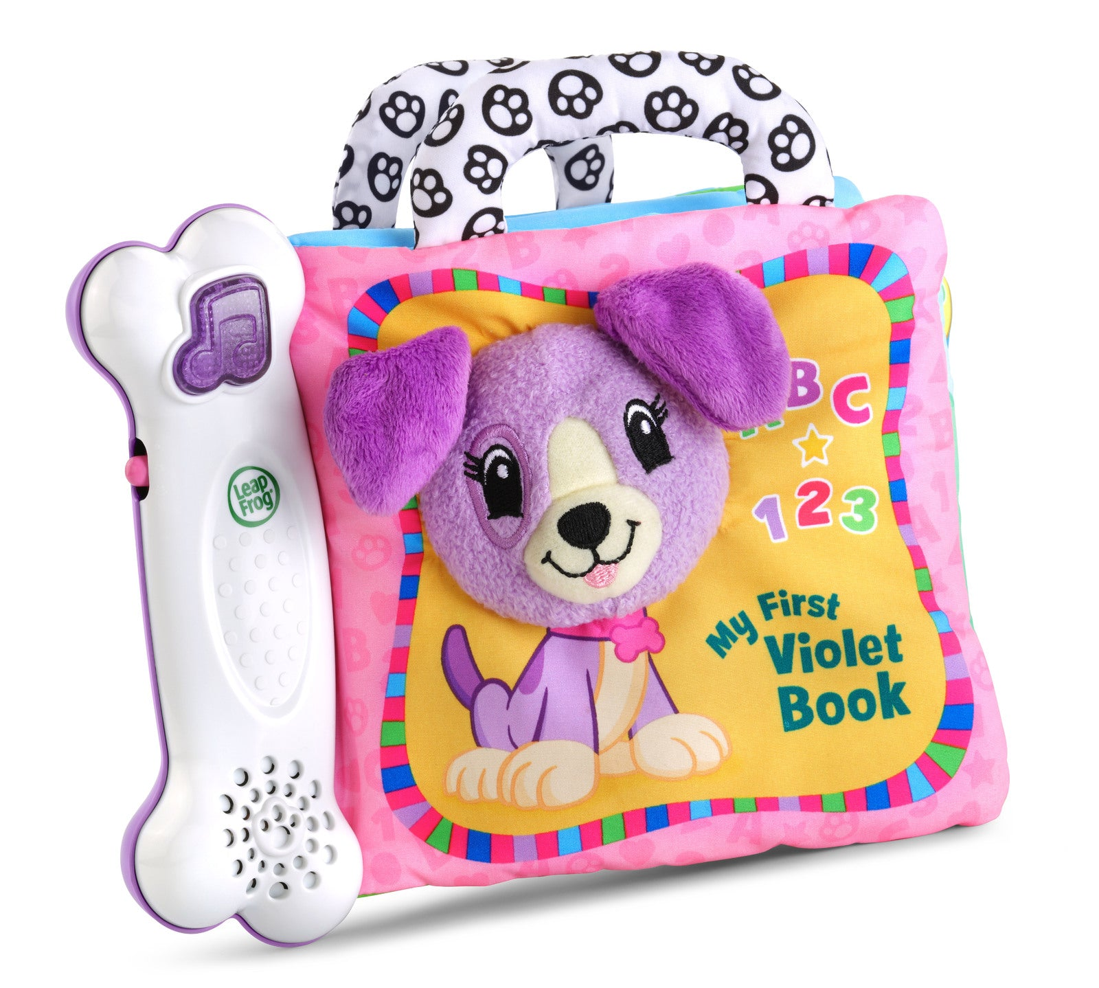 Leapfrog: My First Violet Book - Pink
