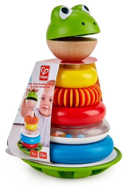 Hape: Mr. Frog - Stacking Rings Set