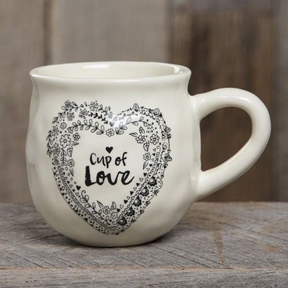 Natural Life: Mug - Happy Cup Of Love