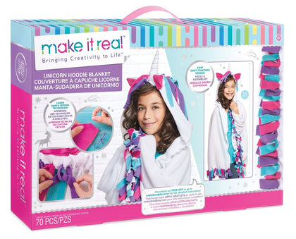 Make It Real: Unicorn Hoodie Blanket - Craft Kit