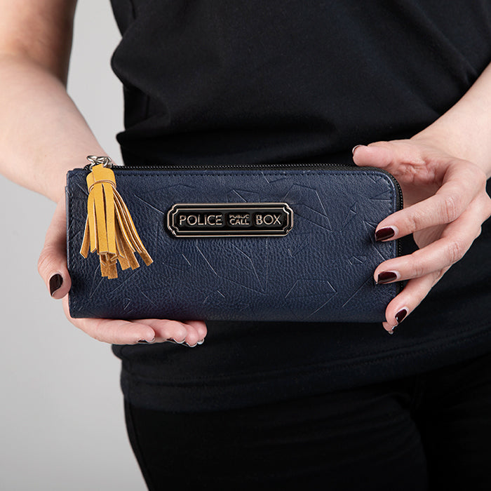 Doctor Who Tardis Zip Wallet