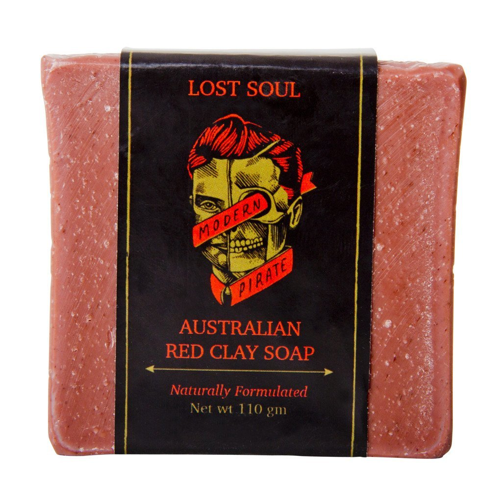 Modern Pirate: Lost Soul Australian Red Clay Soap (100g)