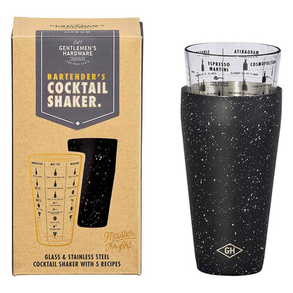 Gentlemen's Hardware: The Bartender Cocktail Shaker