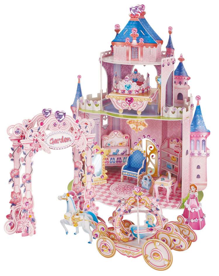 Cubic Fun: 3D Kids Puzzle - Secret Garden Castle