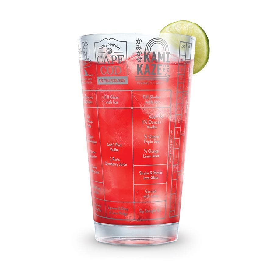 Fred: Good Measure - Vodka Recipe Glass