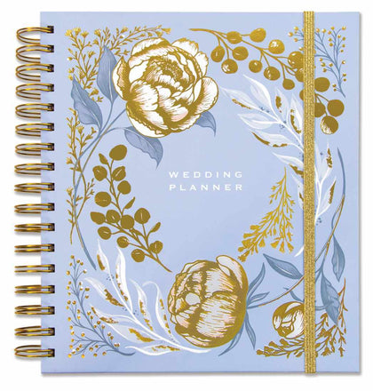 Rachel Ellen: Wedding Planner - Blue Floral