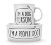 Fred Dog Person - Bowl and Mug Set