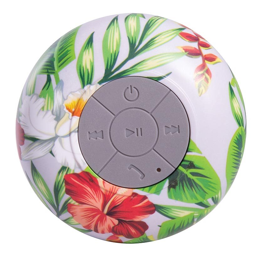 IS GIFT Wireless Shower Speaker - Tropical (Assorted)