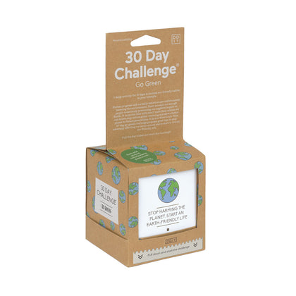 30 Day Challenge - Go Green