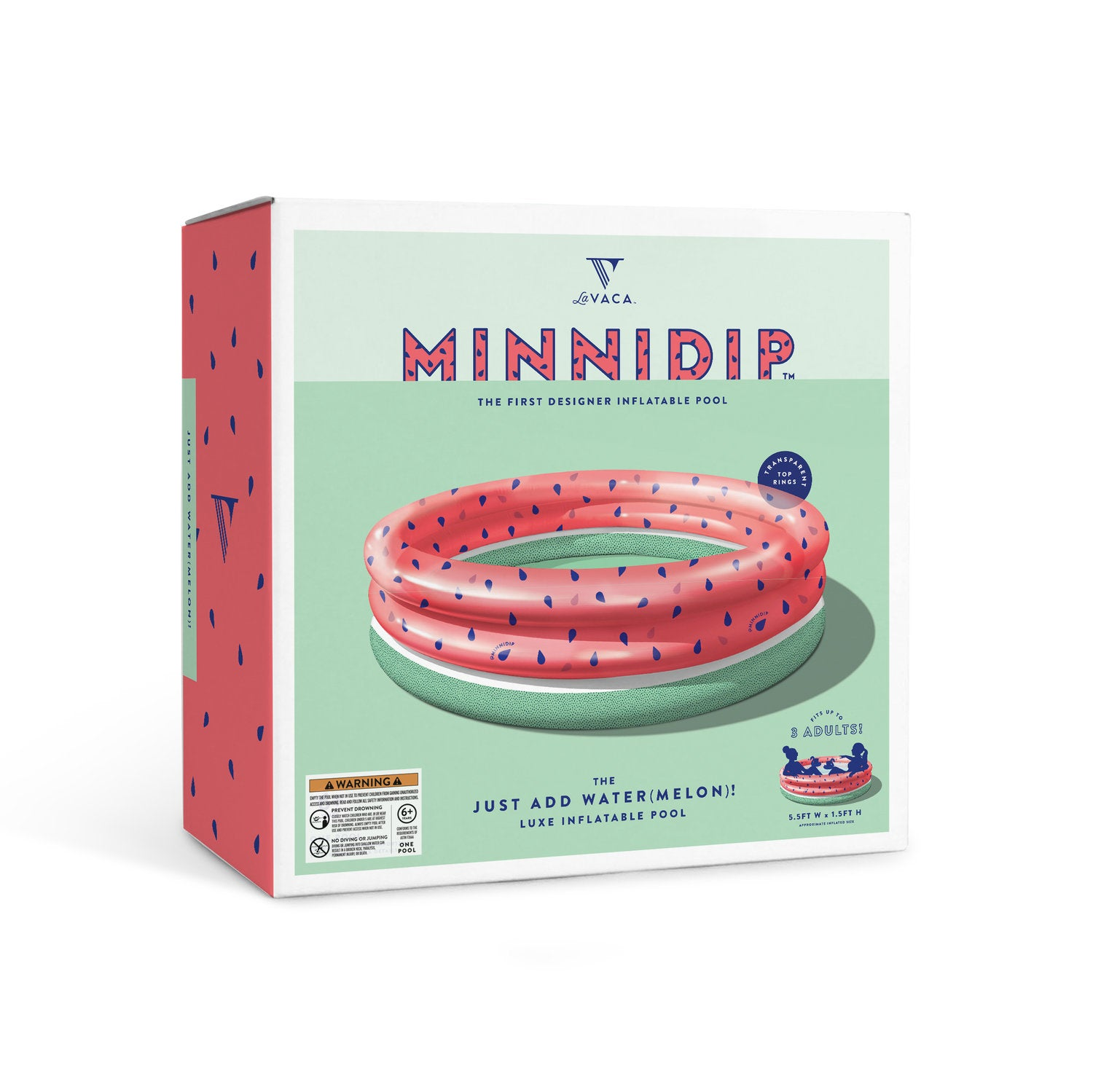 Minnidip: Just Add Water(melon) Pool