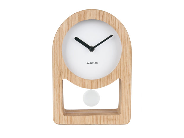 Karlsson Lena Clock - White