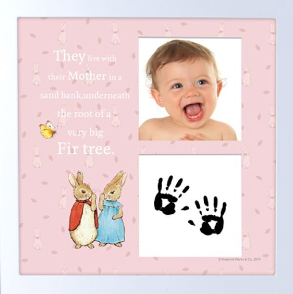 Beatrix Potter: Giftset: Baby Hand/Foot Ink Print