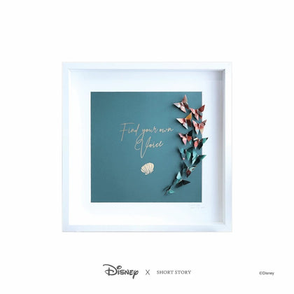 Disney: Large White Frame - Little Mermaid