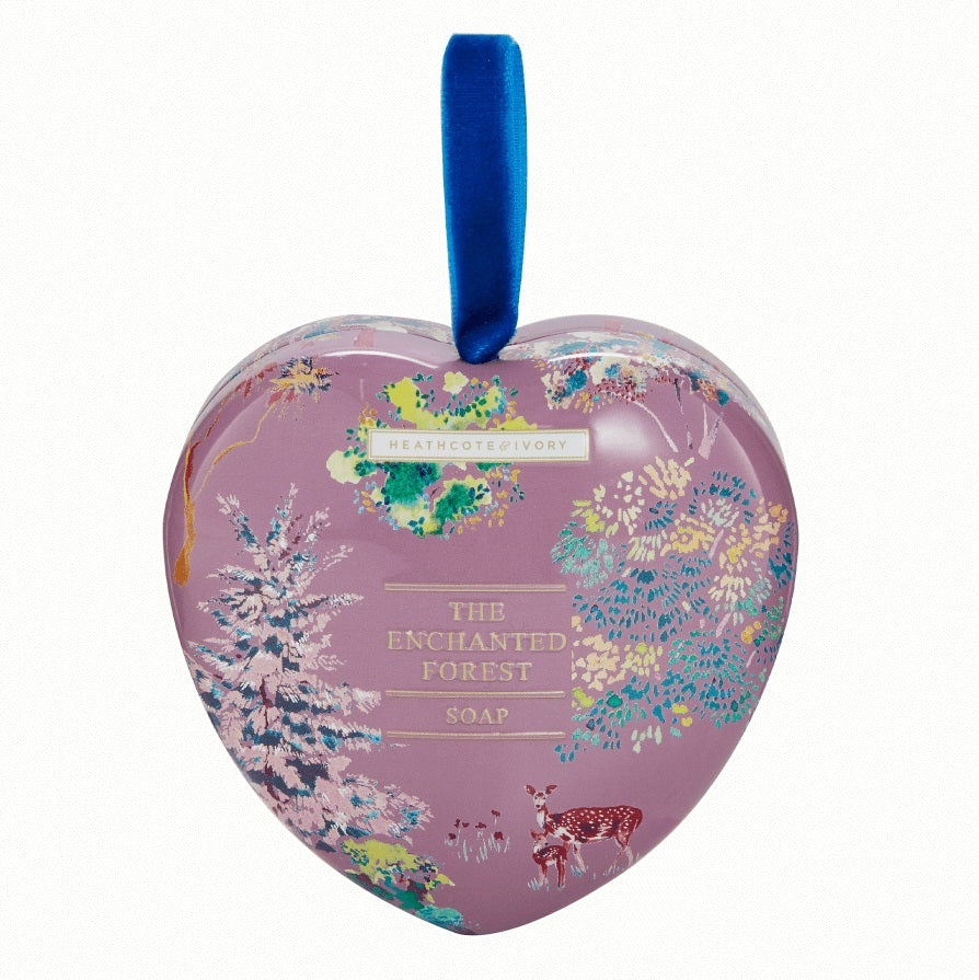Enchanted Forest - Heart Soap in Tin (90g)