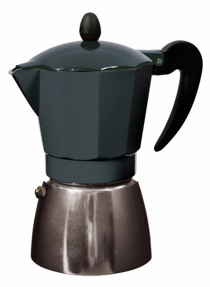 Leaf & Bean: Stove Top Espresso Maker (17.5x10x19cm/6 Cup)
