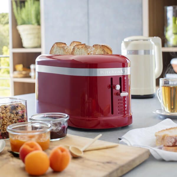 KitchenAid: Design Dual Long Toaster - Empire Red