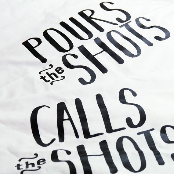Calls The Shots / Pours The Shots Pillow Case Set