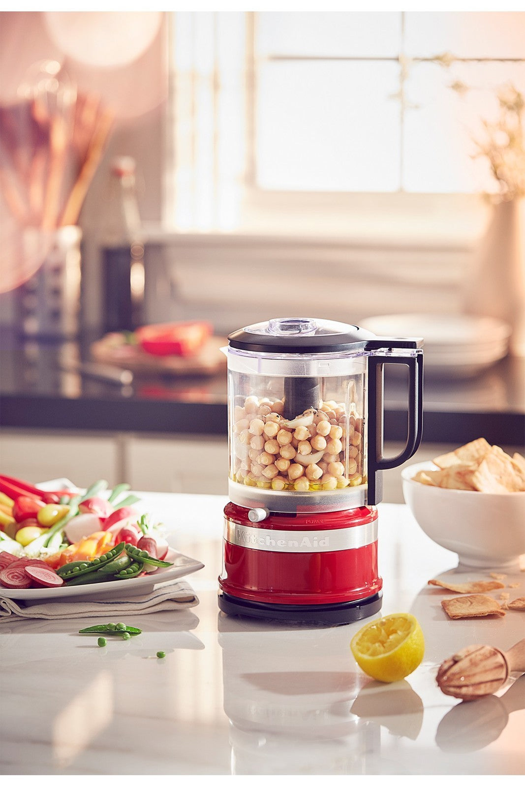 KitchenAid: 5 Cup Food Chopper - Almond Cream