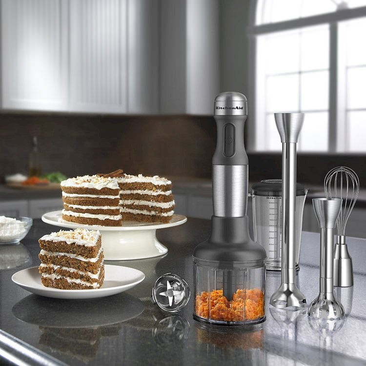 KitchenAid: Artisan Deluxe Hand Blender - Stainless Steel