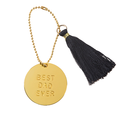 Natural Life: Best Ever Keychain - Dad