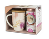 Pinky Up: Bailey Abstract Pink - Mug & Tea Set