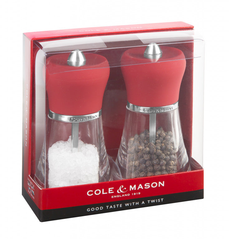Cole & Mason : Napoli Gift Set - Red
