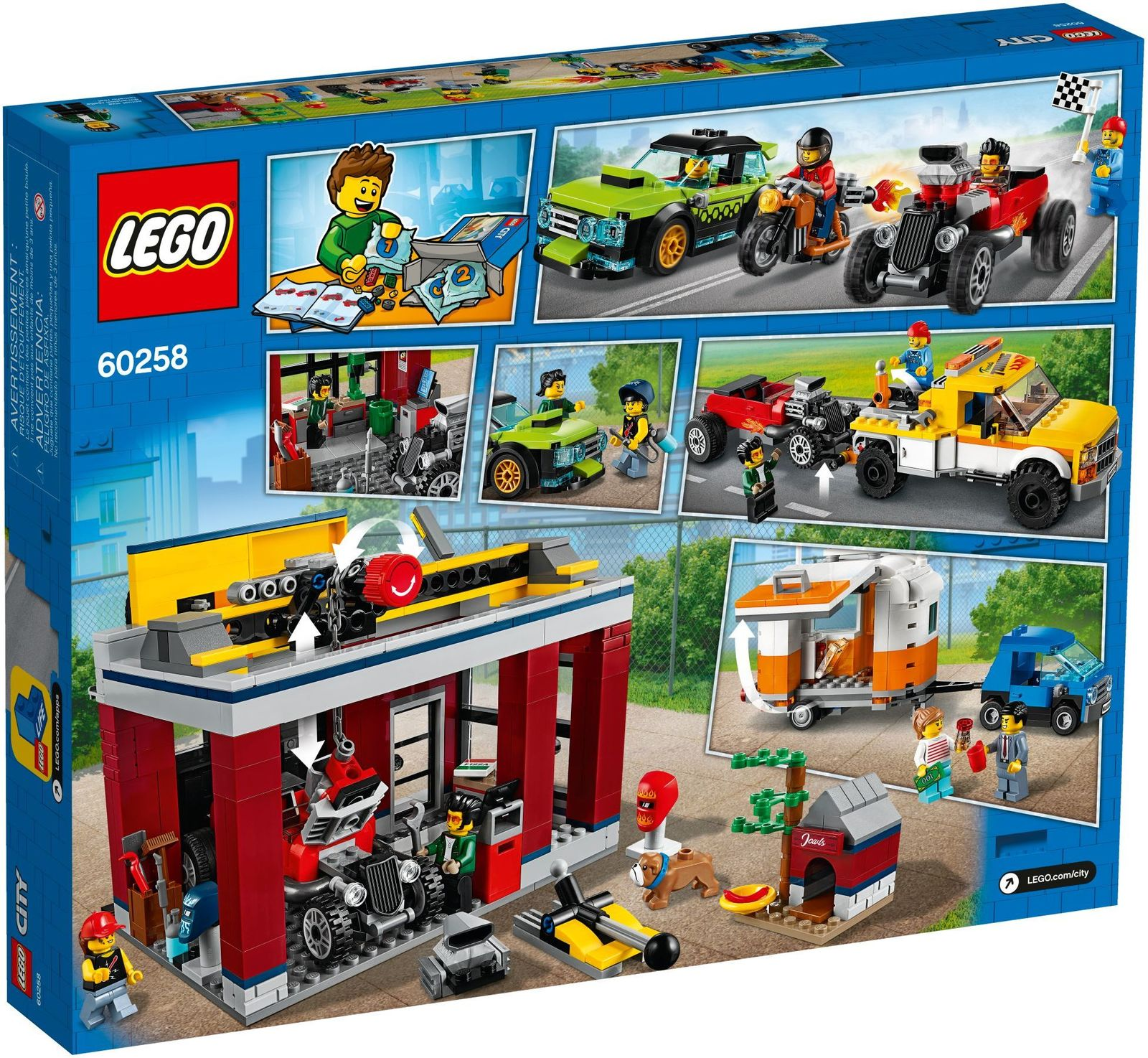 LEGO City: Tuning Workshop - (60258)